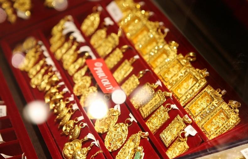 """Giá vàng trong nước tăng """"dữ dội"""" lên gần 50 triệu đồng/lượng"""