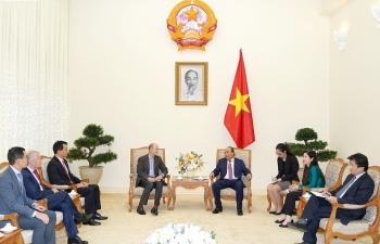 Thủ tướng Nguyễn Xuân Phúc: Việt Nam tích cực thu hút đầu tư chất lượng cao