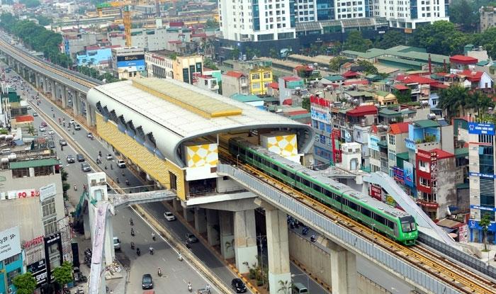 Đưa vào khai thác tuyến đường sắt đô thị Cát Linh-Hà Đông trong năm 2020