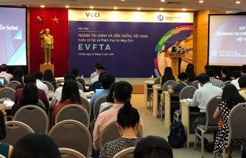 """Tương lai ngành tài chính – viễn thông trước """"ngưỡng cửa"""" EVFTA"""