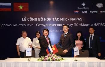 BIDV và NAPAS kết nối với tổ chức thẻ nội địa Liên bang Nga NSPK