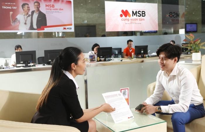 MSB đã đăng ký niêm yết gần 1,18 tỷ cổ phiếu trên HSX