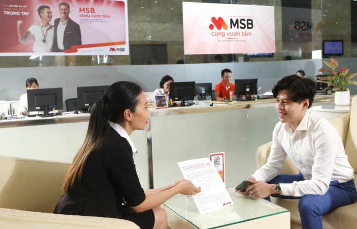 MSB ưu đãi phí chuyển tiền quốc tế cho doanh nghiệp