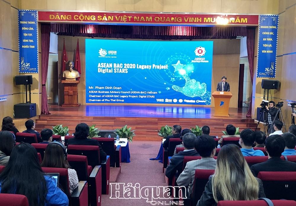 Diễn đàn khởi nghiệp ASEAN. Ảnh: H.Dịu