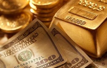 Đầu tuần mới, giá vàng tiếp tục giảm, USD đứng yên