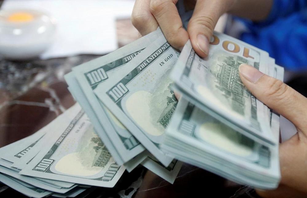 Chỉ số USD quốc tế đang tiếp tục giảm mạnh. Ảnh: Internet
