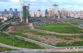 Mức giá đất tối đa ở Hà Nội và TP HCM là 162 triệu đồng/m2