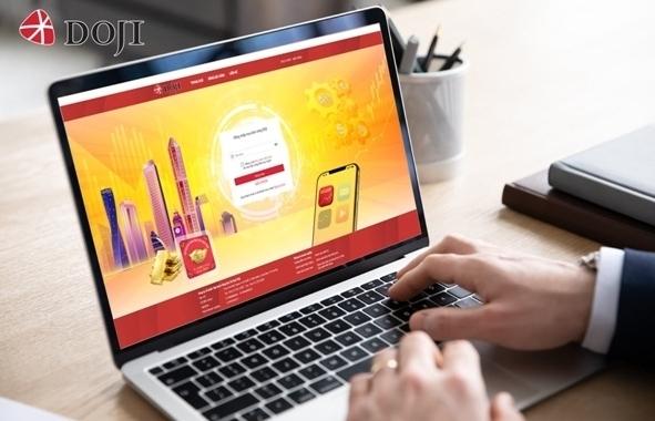 DOJI ra mắt hình thức giao dịch vàng trực tuyến eGold