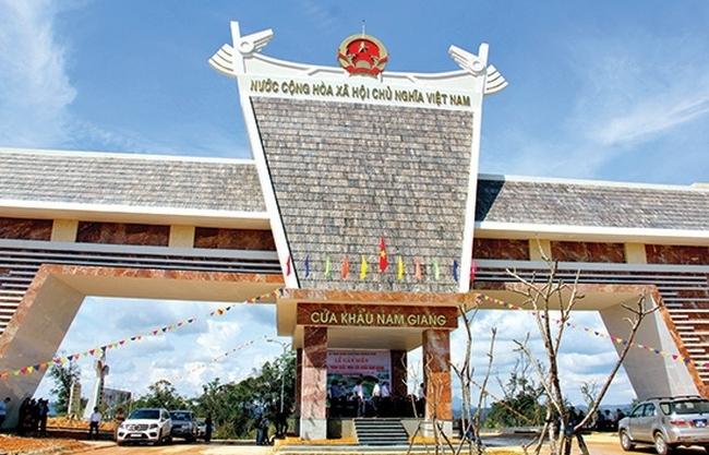 Nâng cấp cửa khẩu chính Lóng Sập và Nam Giang thành cửa khẩu quốc tế