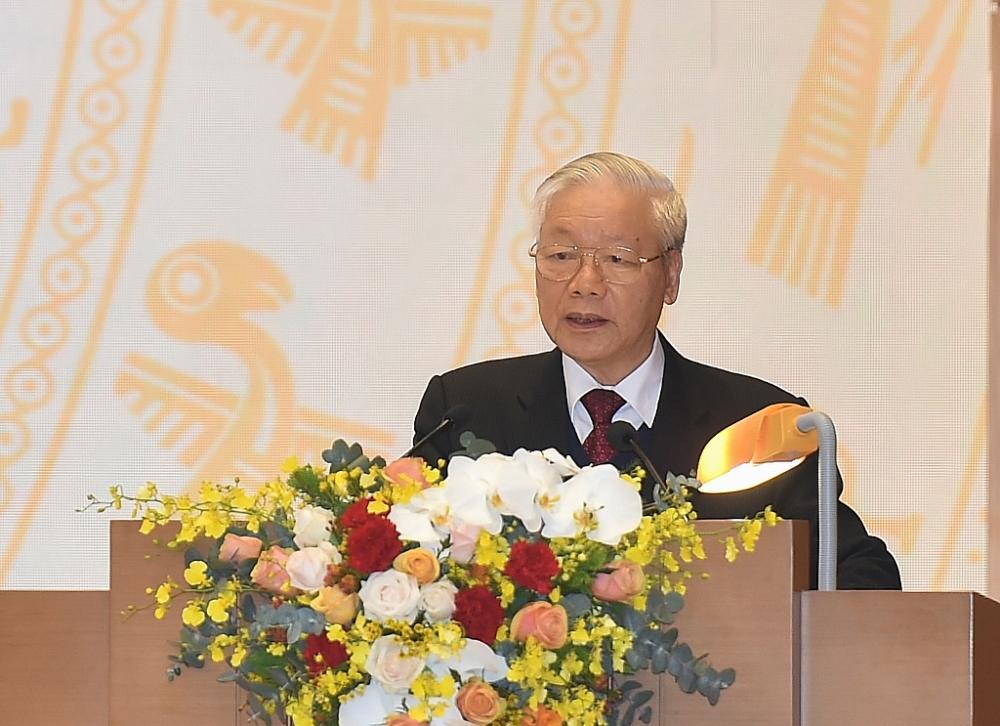 Tổng Bí thư, Chủ tịch nước Nguyễn Phú Trọng: Niềm tin mới, khí thế mới, động lực mới để phát triển kinh tế - xã hội