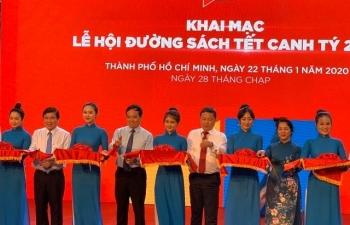 Khai mạc Lễ hội Đường sách Tết Canh Tý 2020 tại TPHCM