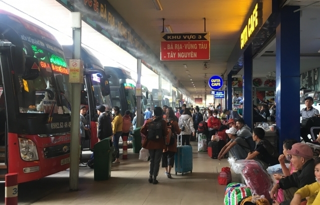 TPHCM không tăng giá vé xe Tết Dương lịch 2021