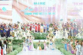 Ấn tượng khai mạc Lễ hội Áo dài TPHCM năm 2019