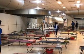 Tây Ninh lập thêm khu cách ly rộng 5.000 m2 trong khu cửa khẩu quốc tế Mộc Bài