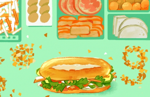 Bánh mì Việt Nam trở thành biểu tượng của Google