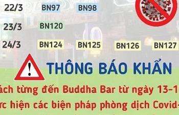TPHCM: Báo động quán bar Buddha là chuỗi lây truyền bệnh Covid-19