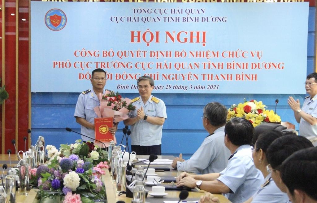 Bổ nhiệm tân Phó cục trưởng Cục Hải quan Bình Dương