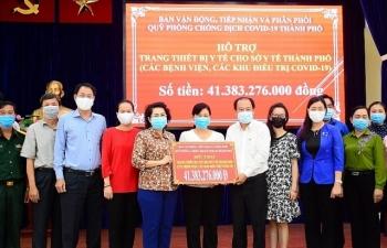 TPHCM chi hơn 41 tỷ đồng mua trang thiết bị y tế phòng, chống dịch Covid-19