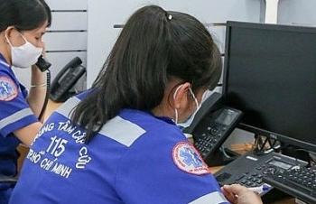 70% cuộc gọi tới Trung tâm Cấp cứu 115 TPHCM để phá rối