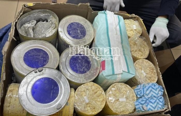 Thu giữ gần 36kg ma túy các loại trong các lô hàng quà biếu