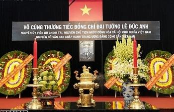 TPHCM tổ chức trọng thể Lễ viếng nguyên Chủ tịch nước, Đại tướng Lê Đức Anh