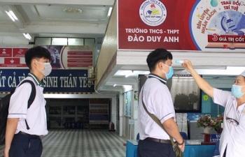 TPHCM: Không dạy học trong ngày đầu tiên học sinh trở lại trường