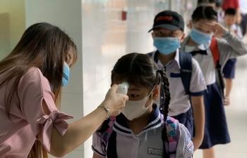 Gần 1,3 triệu học sinh TPHCM đã trở lại trường