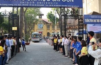 Trường Đại học Sài Gòn dành 80% xét tuyển sử dụng kết quả thi tốt nghiệp THPT