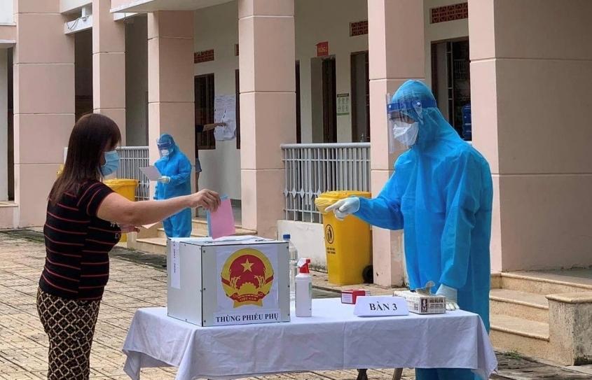 Ngày bầu cử đặc biệt của cử tri trong khu cách ly, phong tỏa tại TPHCM