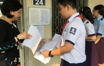 TPHCM công bố đáp án môn Toán, tiếng Anh, Ngữ văn lớp 10