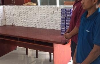 Hải quan Mộc Bài khởi tố hình sự vụ vận chuyển trái phép 2.600 bao thuốc lá
