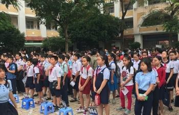 Hơn 4.000 học sinh giỏi đăng ký thi vào lớp 6 Trường THPT chuyên Trần Đại Nghĩa