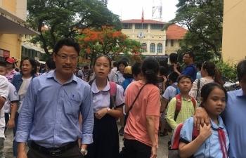 Đề khảo sát vào lớp 6 trường chuyên Trần Đại Nghĩa khó hơn năm trước