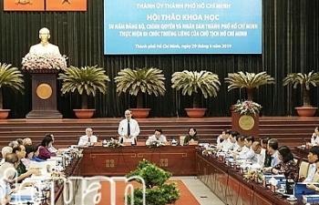 TPHCM thực hiện Di chúc của Chủ tịch Hồ Chí Minh để phát triển