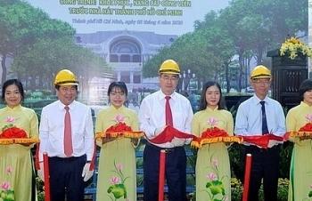 Khởi công khôi phục công viên trước Nhà hát TPHCM
