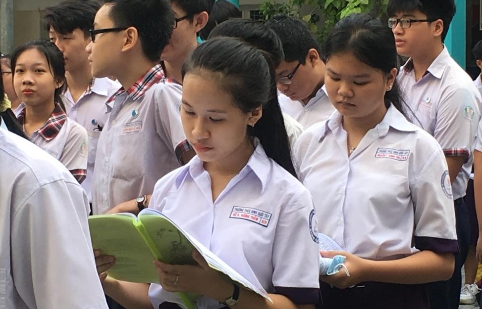TPHCM đề xuất điều chỉnh cách tính điểm thi tuyển sinh lớp 10