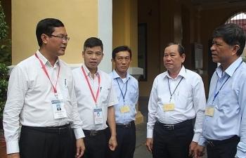 Thứ trưởng Nguyễn Văn Phúc kiểm tra công tác chấm thi THPT quốc gia 2019 tại TPHCM