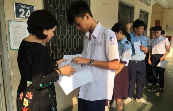 TPHCM dự kiến thi tuyển sinh lớp 10 vào ngày 2 và 3/6