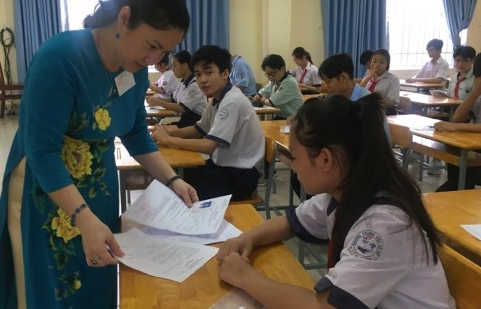 Kỳ thi lớp 10 tại TPHCM: 48,63% thí sinh đạt điểm dưới trung bình môn Toán