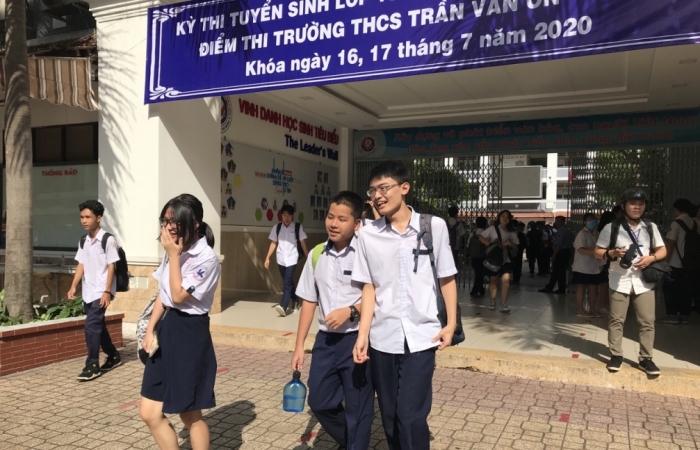 TPHCM chính thức có lịch thi tuyển sinh lớp 10