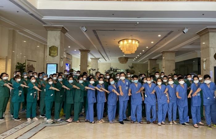 Saigontourist Group hỗ trợ phục vụ ăn, ở cho hàng vạn y, bác sĩ tiếp ứng TPHCM chống dịch