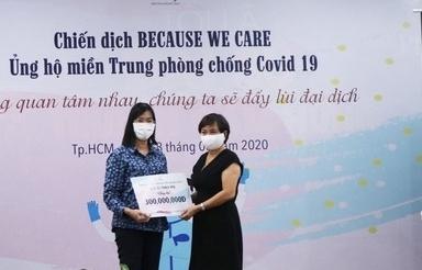 PNJ đóng góp gần 850 triệu đồng ủng hộ miền Trung đẩy lùi dịch Covid- 19