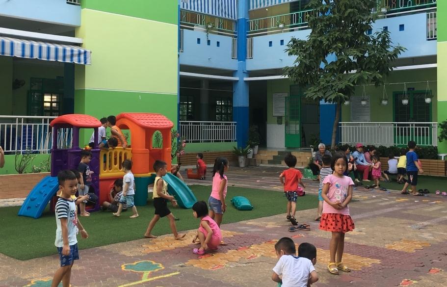 TPHCM: Trường mầm non tổ chức bán trú từ ngày 7/9