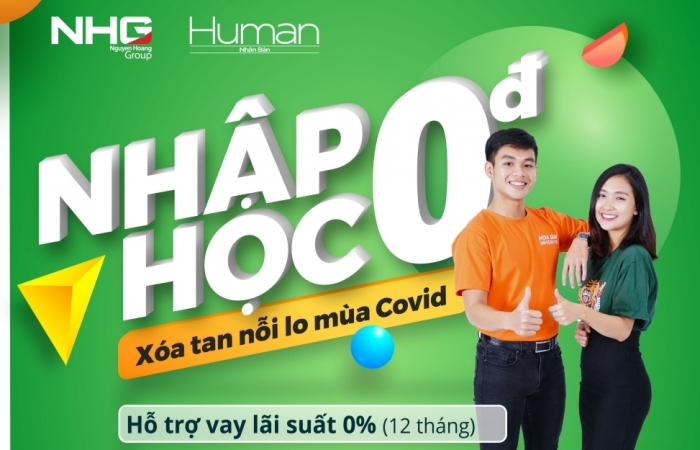 """Tập đoàn giáo dục Nguyễn Hoàng hỗ trợ sinh viên """"nhập học 0 đồng"""""""