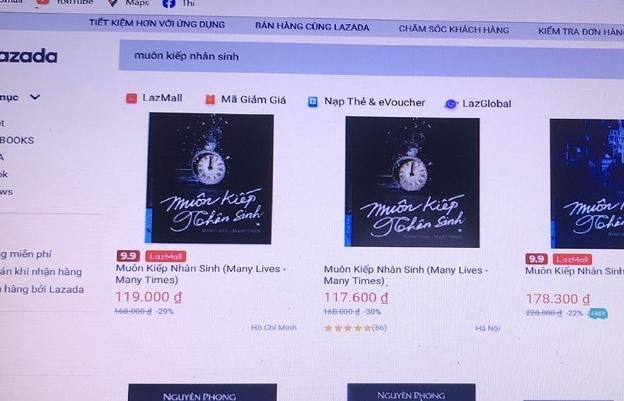 Lazada bị First News- Trí Việt khởi kiện vì bán sách giả