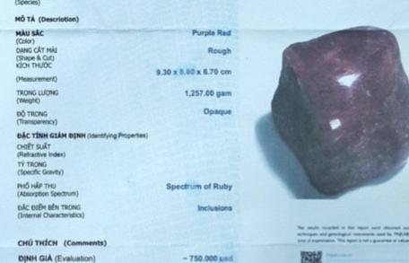 Báo động thực trạng giả mạo giấy kiểm định đá quý của PNJ