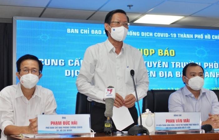 TPHCM tiếp tục giãn cách xã hội theo Chỉ thị 16 đến cuối tháng 9