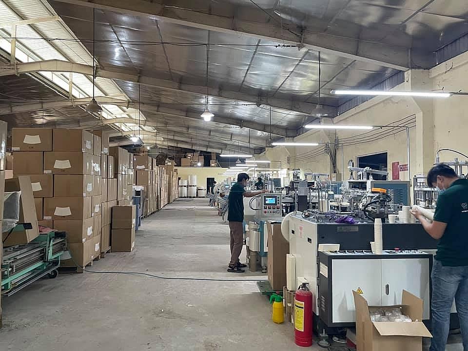 Hoạt động sản xuất, kinh doanh tại TPHCM phải đảm bảo an toàn. Ảnh DN cung cấp