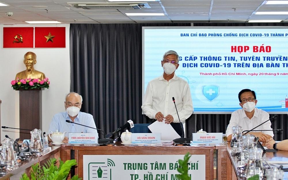 Ông Võ Văn Hoan, Phó Chủ tịch UBND TPHCM