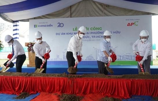 Nhiều công trình xây dựng tại TPHCM được khởi công sau giãn cách
